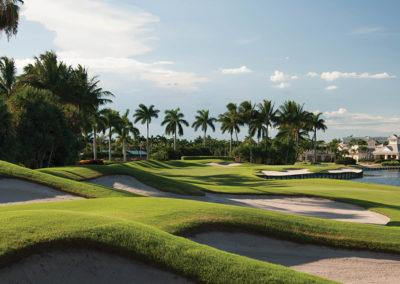 A golfing community